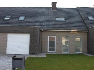 Moderne gezinswoning met tuin en garage