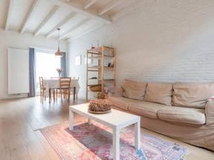 gezellig gemeubeld huis in rustige buurt in centrum Brugge met living , keuken, berging onder de trap, toilet, badkamer, cv en pas gerenoveerd met laa