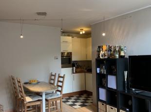 Leuk appartement  op de 5de verdieping in het centrum van Genk, kapelstraat, met 2 slaapkamers, mooie badkamer met bad en toilet apart. Volledig inger