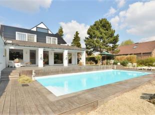 Zeer mooie en luxueuze witte villa, 3000 Leuven op 20 are, met veel aantrekkelijke voorzieningen, hoogwaardige recente afwerking, 320 m² bewoonbare op