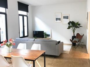 """""""Gezellig nieuw bemeubeld appartement op de 1ste verdieping!""""<br /> <br /> Volledig uitgerust en bemeubeld appartement gelegen nabij het hippe """"Zuid""""."""