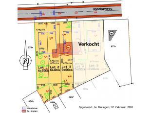 3 Halfopen bebouwingen:<br /> -Lot 1:         6a20   €115 000<br /> -Lot 2:        6a10    €115 000<br /> -Lot 3:        5a55    €110 000
