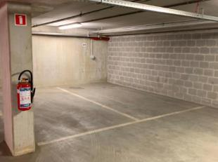 Ondergrondse open parkeergarage te huur is momenteel verhuurd voor onbepaalde duur aan €130/maand. kan gekocht worden voor privé gebruik of als invest