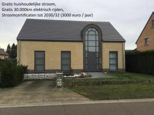 Recente unieke woning,zeer groot, zuidgericht,rustig gelegen in Eversel. Dicht bij bosrijk gebied en bij school de Springplank, kleuter en basisonderw