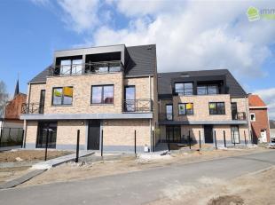 """Laatste appartement in dit uniek nieuwbouwproject """"Res. Kapelleken"""" te Appels .<br /> Dit nieuwbouwproject met een rustige ligging en bovendien in de"""