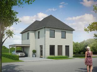Nieuw te bouwen vrijstaande woning gesitueerd in een kleine verkaveling van 16 loten. De verkaveling omvat 2 alleenstaande woningen , 10 halfopen bebo