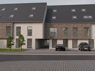 """Residentie """"ROANINA"""" is een nieuwbouwproject, bestaande uit 11 appartementen met 2 slaapkamers, 11 garages, 6 parkeerplaatsen en een gemeenschappelijk"""