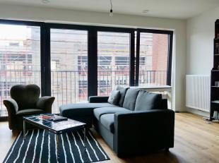 TOUR & TAXIS, 2 slaapkamer appartement gelegen in residentie GLORIA op de site van Tour & Taxis, aan het hippe kanaal, zeer goede bereikbaarhe
