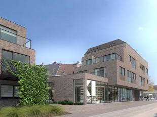 Schitterend nieuwbouw duplex appartement (76,57m2) als volgt ingedeeld: +2 -> inkom, afzonderlijke WC, ruime leefruimte met open keuken (zicht op d