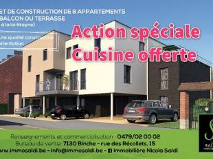 Appartement à vendre                     à 6150 Anderlues