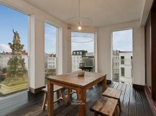 U zoekt werkelijk hét neusje van de zalm in Antwerpen?  Dit unieke appartement baadt in luxe, ruimte, licht en heeft een fantastische centrale