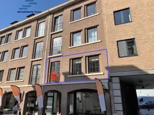 """Tienen, Minderbroedersstraat 21 (Residentie """"Scala""""): Appartement op de eerste verdieping (lift aanwezig);<br /> Inkomhall, ruime en gezellige living,"""