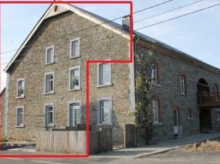 Mooie karaktervolle woning (+- 150m² woonoppervlakte/+- 207m² in totaal) met parking, terras en tuin. Indeling van dit pand (2 slaapkamers/1