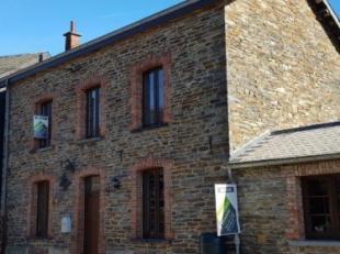 Mooie en aangename vrijstaande woning in natuurstenen (+- 153m² woonoppervlakte, +- 280m² totale oppervlakte), met 2 terrassen en tuin, op 3