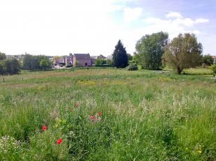 Terrain à bâtir fantastique: très tranquille et rural, mais tout près du centre de Leefdaal, sur une parcelle de 7.71 ares.