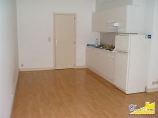 Crescendimmo vous propose ce flat de ± 30 m², idéalement situé au rez-de-chaussée d'un petit immeuble à proxim