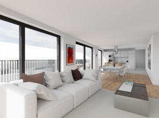 Deze penthouse is ideaal voor wie op zoek is naar een ruim appartement, met een groot terras (50m2) en een prachtig zicht over het dorp. De penthouse