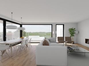 Dit appartement gelegen op de tweede verdieping van een nieuw op te richten gebouw in het centrum van Wachtebeke beschikt over een lichtrijke leefruim