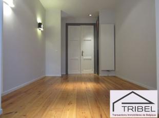 IXELLES, quartier Flagey/Etangs d'Ixelles, extraordinaire appartement de +/- 55m², comprenant: living, cuisine full équipée, espace