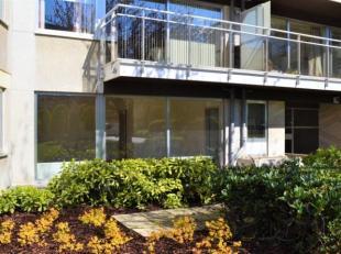 A deux pas du ChÃÂteau de Rivieren, au rez de chaussÃÂe dans un immeuble de 8 ÃÂtages, charmant studio Ã