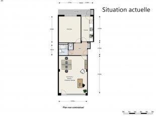 EEXCLUSIVITE DIRECT-IMMO : QUARTIER MEISER Rez-de-chaussée de ± 68 m² + terrasse de 8m² + cave Affectation Mixte. Possibilit&e