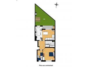 Appartement RDC deux chambres + jardin Idéalement situé, proche de toutes commodités, vous y trouverez au niveau du rez-de-chauss