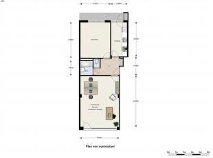 EXCLUSIVITE DIRECT-IMMO : QUARTIER MEISER Rez-de-chaussée de ± 68 m² + terrasse de 8 m² + cave Affectation Mixte (magasin-appa