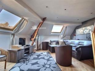 EXCLUSIVITE DIRECT-IMMO : QUARTIER JOURDAN : Situé au 3ème étage + combles d'une maison bruxelloise et à proximité