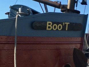 De BooT is een kempenaar (vroeger St Anna II) en werd gebouwd in 1928 en meet 6.60m op 50m. Het schip werd in 2010 volledig gerenoveerd en omgebouwd n