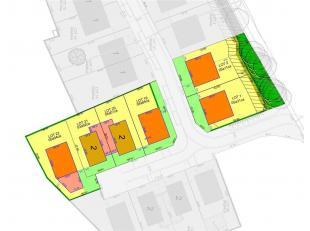 Mooi bouwperceel geschikt voor open bebouwing met een oppervlakte van 5a11ca. Deze grond is LOT 2 van de nieuwe verkaveling aan de Oude Steenstraat in