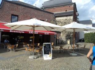 Magnifique restaurant grec au coeur de Gembloux, sur la célèbre place Saint-Jean, collé à l'université de l'agronom