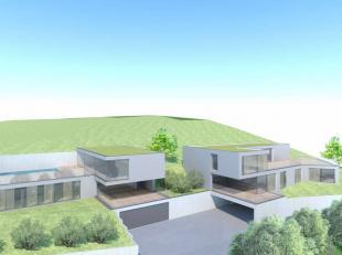 Terrain avec un projet immobilier de Standing sur les hauteurs de Wartet.Une vue imprenable, surplombant tout le village de Marche-les-Dames, sur les