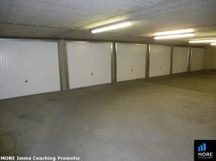 Makkelijk bereikbare garagebox met automatische gemeenschappelijke inrijpoort/privé poort met afstandsbediening. Omgeving Dumortierlaan/Zoutela