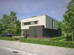 6 LOTEN gunstig gelegen nieuwbouwwoningen, gelegen in een nieuw aan te leggen doodlopende rustige verkaveling, residentieel gelegen in het groen met g