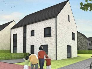 (2 LOTEN) Mooie moderne HALF-OPEN nieuwbouwwoningen. De investeringen bedragen 372.800 € met grondoppervlakken van 798 en 805 m2 op mooi diep percelen