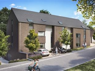 Appartement de +/- 64.4 m² situé au 1er étage de la résidence avec balcon de +/- 7.7m² orienté Sud-Ouest. Compos