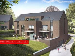 Situé à Saint-Denis : Appartement de +/- 64.4 m² sis au 1er étage de la résidence avec balcon de +/- 7.7m² orien