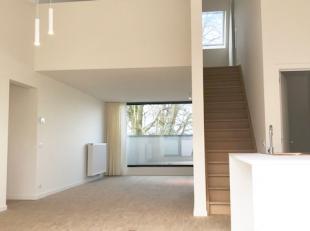 Prachtig appartement met duplex bureau; Residentie de Borchgraeve: via lift naar verdieping 2: inkomhall met apart toilet, badkamer met grote inloopdo