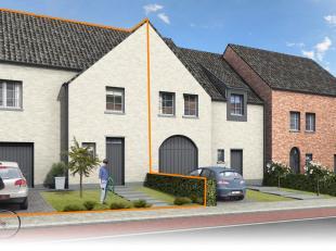 BORSBEKE - Nieuwbouwwoning W4met 3 slaapkamers in pastorijstijl<br /> De pastorijwoning omvat op het gelijkvloers een inkomhal met vestiaire, apart ga