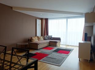 Een appartement op de 11de verdieping, gelegen in een gezellige omgeving, beschikt over een erg groot terras van (14m²) en biedt uitzicht over An