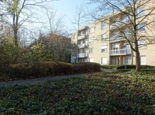 Goed onderhouden, in het groen gelegen, 3 slk-appartement met 2 terrassen en inclusief, een ruime inpandige, ondergrondse garagebox (20m²). Het g
