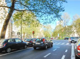 IXELLES : Superbe BUREAU/ SHOWROOM DE 115m² avec GARAGE; bien situé sur l'avenue Louise proche Jardin du Roi. RARE !
