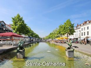 En plein centre ville: Mieux qu'un appartement, superbe petite maison 120m² , 2 chambres, terrasse, situé dans le quartier Ste Catherine,