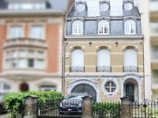 UCCLE/CHURCHILL : Superbe Hôtel de Maître datant de 1928 et développant ± 780m² dont 459m² habitables, 8m de fa&cc