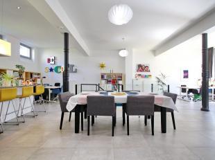 Midi Station - Clos des Vétérinaires: Geweldig lichte loft van 185m² in een privépark ! Op de begane grond: hal met apart to