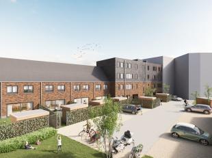 Rommelaar brengt een woonmix van 10 appartementen met ruime terrassen en 8 koppelwoningen met tuin rondom een mooie groenzone. Dankzij de afgesloten t