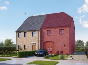 Deze nieuwbouwwoning die nog naar eigen smaak kan afgewerkt worden omvat 166m² bewoonbare oppervlakte.<br /> Ze is gelegen op een mooi zuid-west