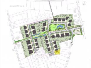 """Deze bouwgrond situeert zich in de nieuwe verkaveling """"Kapelhoef"""" te Wijchmaal - Peer.<br /> Het project is uitstekend bereikbaar en bevindt zich tege"""
