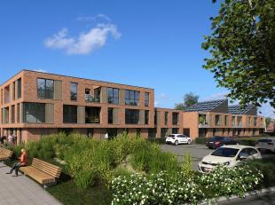 Residentie Poortelei, een nieuwbouwproject van 19 appartementen, ondergrondse parkeerplaatsen en kelders. Deze ondergrondse verdieping verhoogt het co