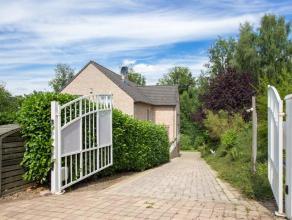 Superbe villa de 1999, située dans le quartier recherché du Bois de la Pierre à Bierges. Sise sur un terrain de 23 ares, cette ma